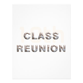 TEE 10th Class Reunion 21.5 Cm X 28 Cm Flyer