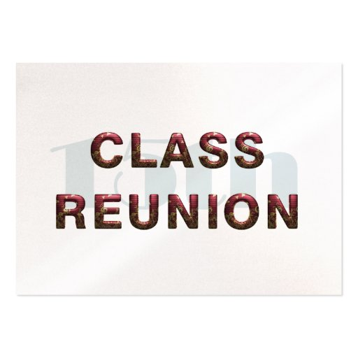 TEE 15th Class Reunion Business Card