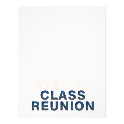 TEE 20th Class Reunion Personalized Flyer