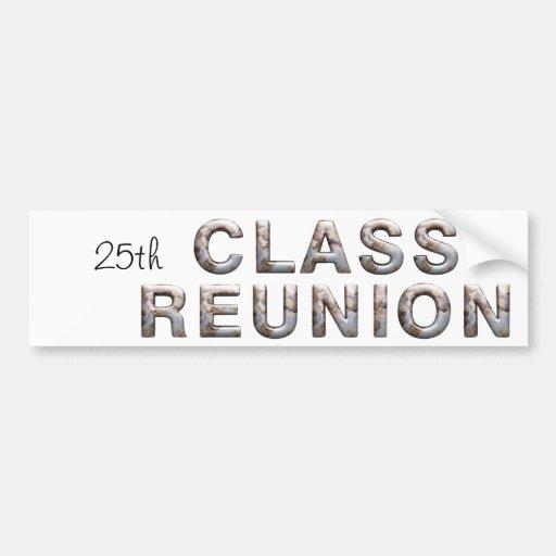 TEE 25th Class Reunion Bumper Sticker
