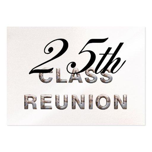 TEE 25th Class Reunion Business Cards