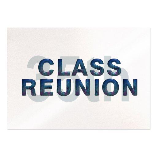 TEE 35th Class Reunion Business Card