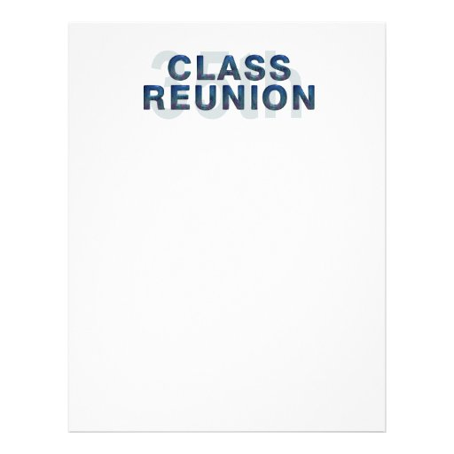 TEE 35th Class Reunion Personalized Flyer