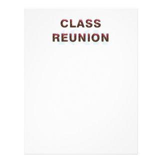 TEE 40th Classr Reunion 21.5 Cm X 28 Cm Flyer