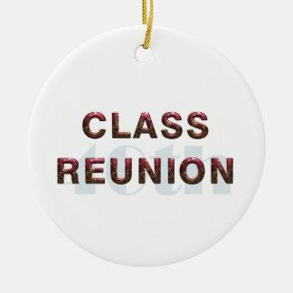 TEE 40th Classr Reunion Ceramic Ornament
