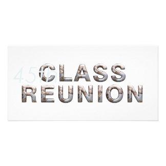 TEE 45th Class Reunion Customized Photo Card