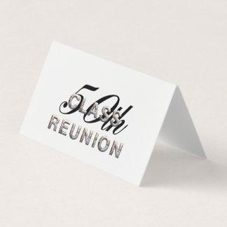 TEE 50th Class Reunion Business Card