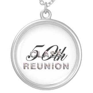 TEE 50th Class Reunion Silver Plated Necklace