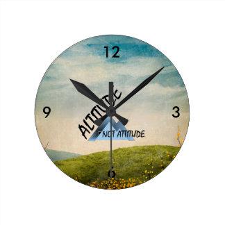 TEE Altitude Not Attitude Clock