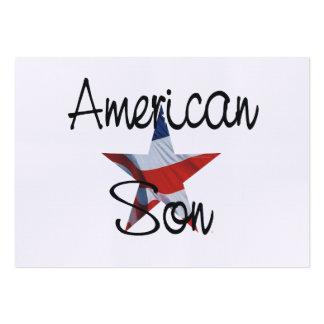 TEE American Son Business Card