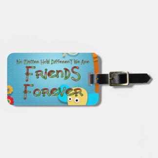 TEE Animal Friends Luggage Tag