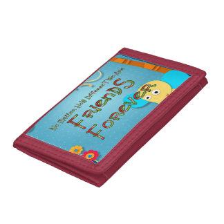 TEE Animal Friends Tri-fold Wallet