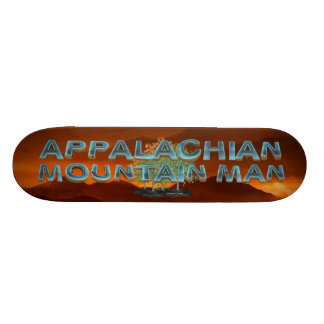 TEE Appalachian Mountain Man 21.6 Cm Skateboard Deck