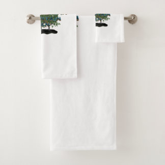 TEE Appalachian Mountain Man Bath Towel Set
