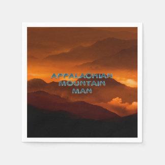 TEE Appalachian Mountain Man Paper Napkin
