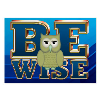 TEE Be Wise Business Cards