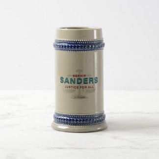 TEE Bernie Sanders for President Beer Stein