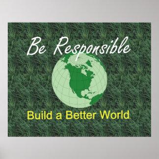 TEE Better World Poster