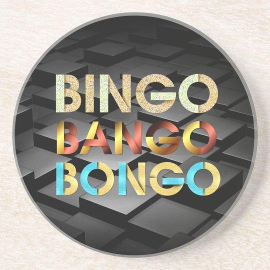 TEE Bingo Bango Bongo Beverage Coasters