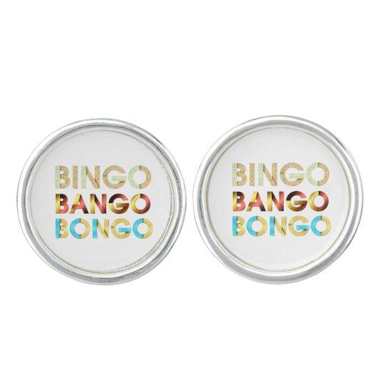 TEE Bingo Bango Bongo Cuff Links