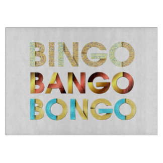 TEE Bingo Bango Bongo Cutting Board