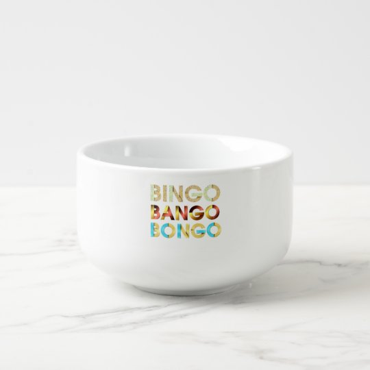 TEE Bingo Bango Bongo Soup Bowl With Handle