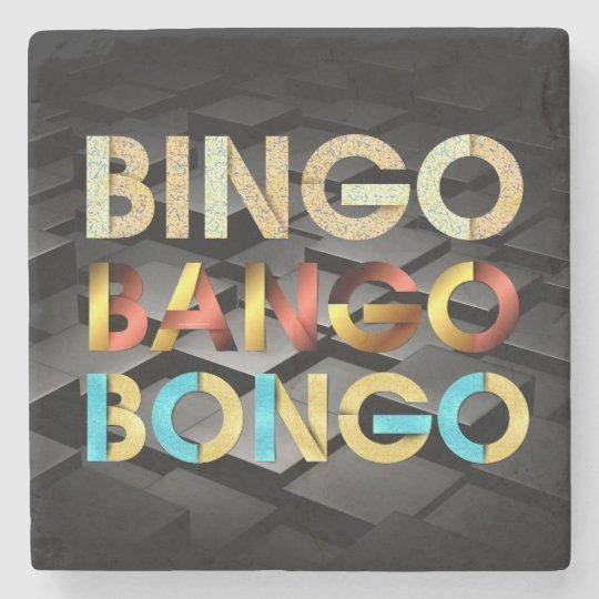 TEE Bingo Bango Bongo Stone Coaster