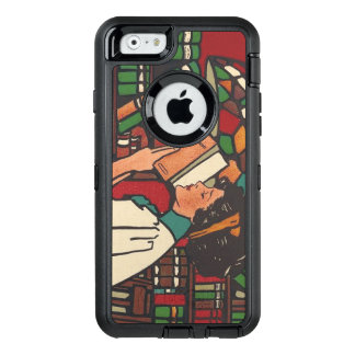 TEE Book Worm OtterBox Defender iPhone Case
