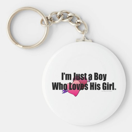 TEE Boy Loves Girl Key Chains