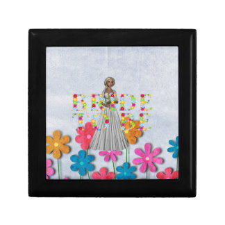 TEE Bride To Be Small Square Gift Box