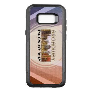 TEE Broadway Star OtterBox Commuter Samsung Galaxy S8+ Case