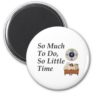 TEE Busy Time Refrigerator Magnets