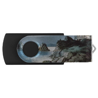 TEE California Coast Swivel USB 2.0 Flash Drive