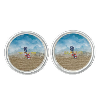 TEE California Patriot Cuff Links
