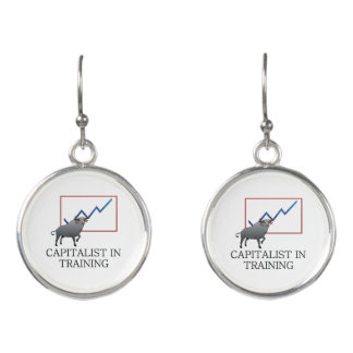 TEE Capitalist in Training Earrings