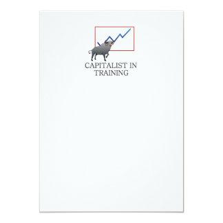 "TEE Capitalist in Training 5"" X 7"" Invitation Card"