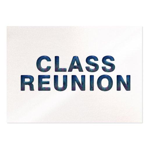 TEE Class Reunion Business Card Templates