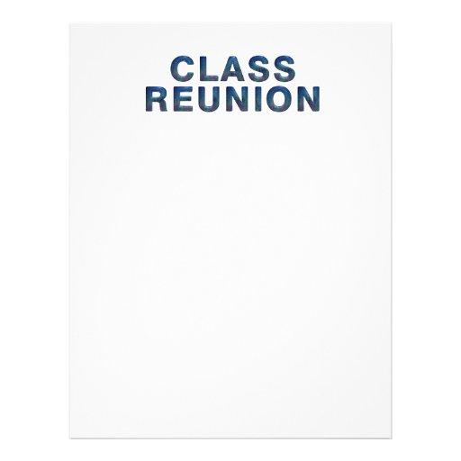 TEE Class Reunion Flyers