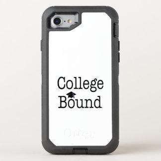 TEE College Bound OtterBox Defender iPhone 8/7 Case