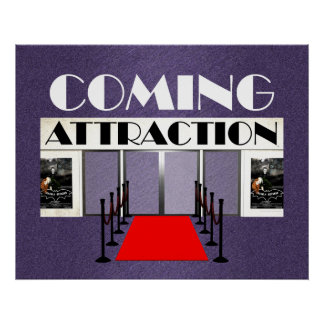 TEE Coming Attraction Posters
