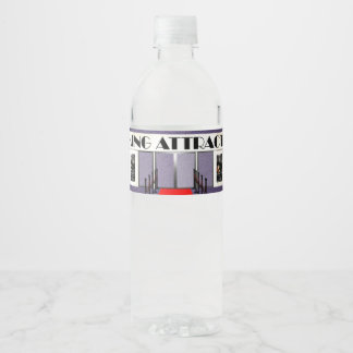 TEE Coming Attraction Water Bottle Label