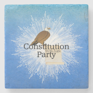 TEE Constitution Party 2016 Stone Coaster