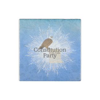 TEE Constitution Party 2016 Stone Magnet