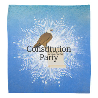 TEE Constitution Party Bandana