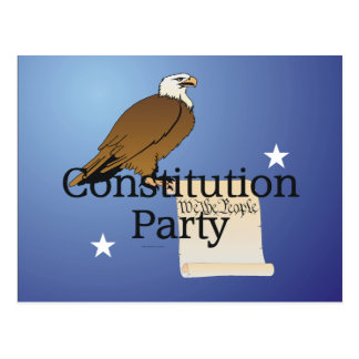 TEE Constitution Party Postcard