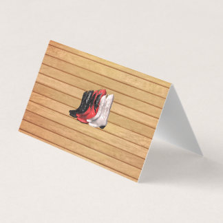 TEE Country Boots Business Card
