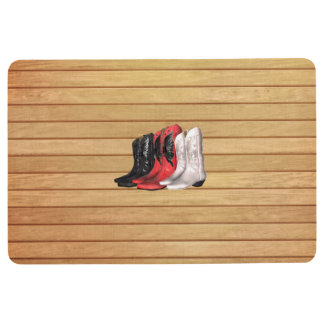 TEE Country Boots Floor Mat