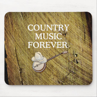 TEE Country Music Forever Mouse Pad