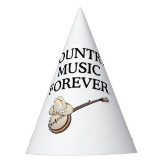 TEE Country Music Forever Party Hat