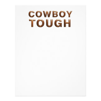 TEE Cowboy Tough Flyer Design